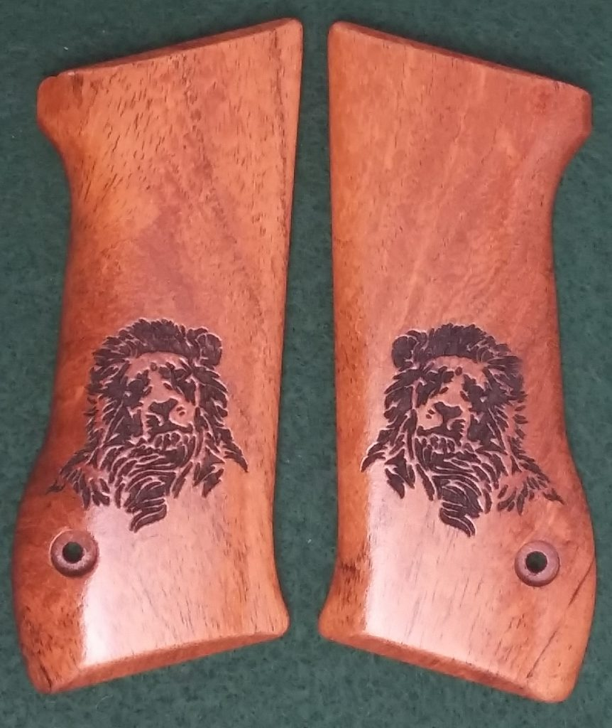 Jericho 94 Baby Eagle Mesquite Engraved