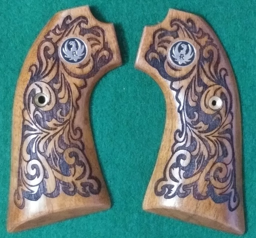 Ruger Bisley With Scroll & Medallions