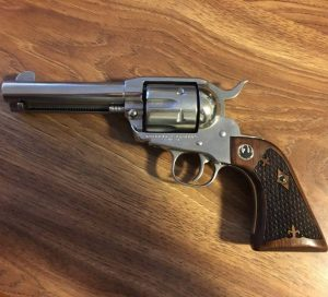 Ruger XR3 Walnut With Spanish Checkering & Medallions