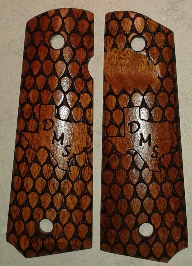 Snake Skin With Texas Profile